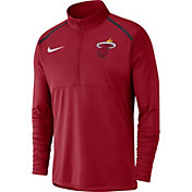 Nike Men's Miami Heat Dri-FIT Element Half-Zip Pullover