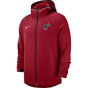 Nike Men's Miami Heat On-Court Dri-FIT Showtime Full-Zip Hoodie