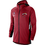 Nike Men's Miami Heat On-Court Therma Flex Showtime Full-Zip Hoodie