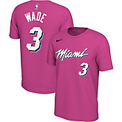 Nike Men's Miami Heat Dwyane Wade Dri-FIT Earned Edition T-Shirt