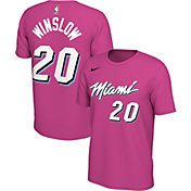 Nike Men's Miami Heat Justise Winslow Dri-FIT Earned Edition T-Shirt