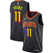 Nike Men's Atlanta Hawks Trae Young #11 Black Dri-FIT Swingman Jersey