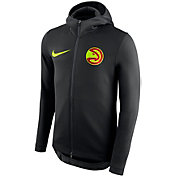 Nike Men's Atlanta Hawks On-Court Therma Flex Showtime Full-Zip Hoodie