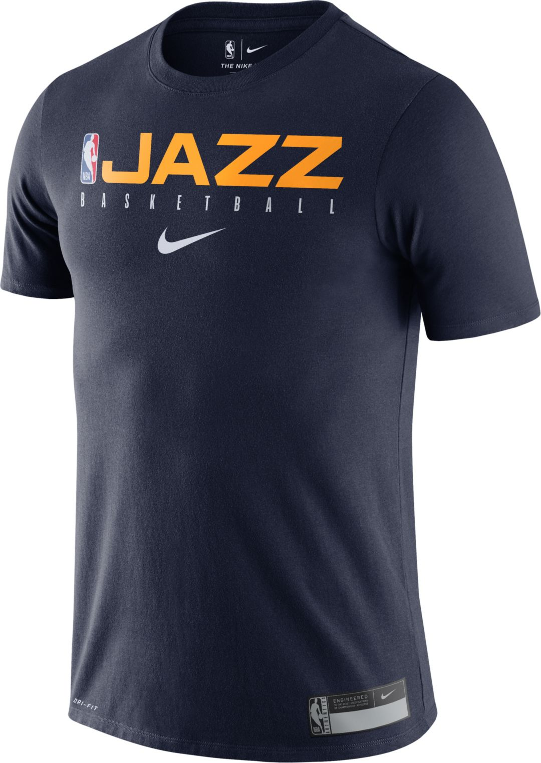 best sneakers 94505 e1653 Nike Men's Utah Jazz Dri-FIT Practice T-Shirt