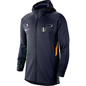 Nike Men's Utah Jazz On-Court Therma Flex Showtime Full-Zip Hoodie