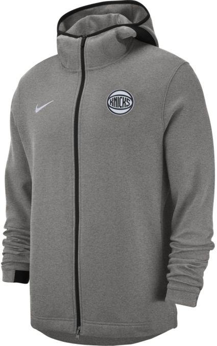 Nike Men s New York Knicks On-Court Dri-FIT Showtime Full-Zip Hoodie.  noImageFound. 1   1 4d2a10569