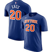 Nike Men's New York Knicks Kevin Knox #20 Dri-FIT Blue T-Shirt