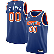 Nike Men's Full Roster New York Knicks Royal Dri-FIT Swingman Jersey