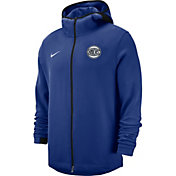 Nike Men's New York Knicks On-Court Dri-FIT Showtime Full-Zip Hoodie