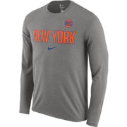 Nike Men's New York Knicks Dri-FIT Facility Long Sleeve Shirt