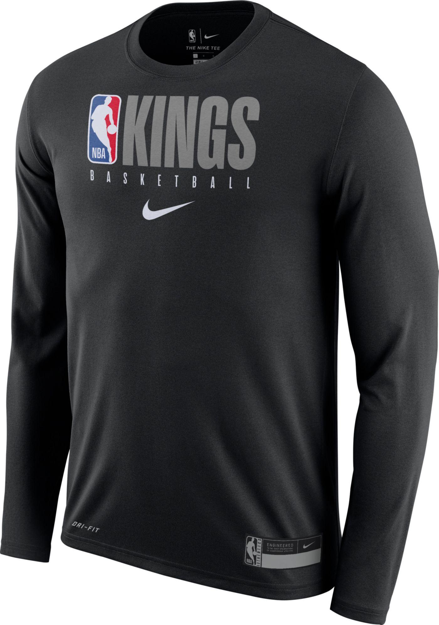 Nike Men's Sacramento Kings Dri-FIT Practice Long Sleeve Shirt
