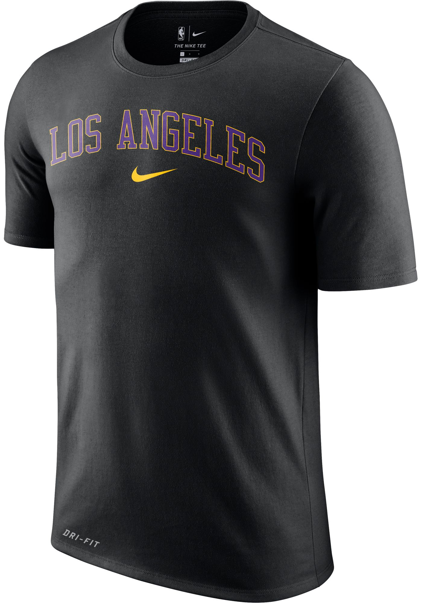Nike Men's Los Angeles Lakers Dri-FIT City T-Shirt