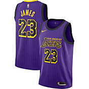 Nike Men's Los Angeles Lakers LeBron James Dri-FIT City Edition Swingman Jersey