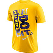 "Nike Men's Los Angeles Lakers Dri-FIT ""Just Do It"" T-Shirt"