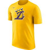 "Nike Men's Los Angeles Lakers ""King Is Crowned"" Gold T-Shirt"