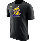 "Nike Men's Los Angeles Lakers ""King Is Crowned"" Black T-Shirt"