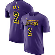 Nike Men's Los Angeles Lakers Lonzo Ball Dri-FIT City Edition T-Shirt