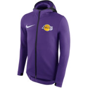 Nike Men's Los Angeles Lakers On-Court Therma Flex Showtime Full-Zip Hoodie
