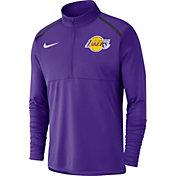 Nike Men's Los Angeles Lakers Dri-FIT Element Half-Zip Pullover
