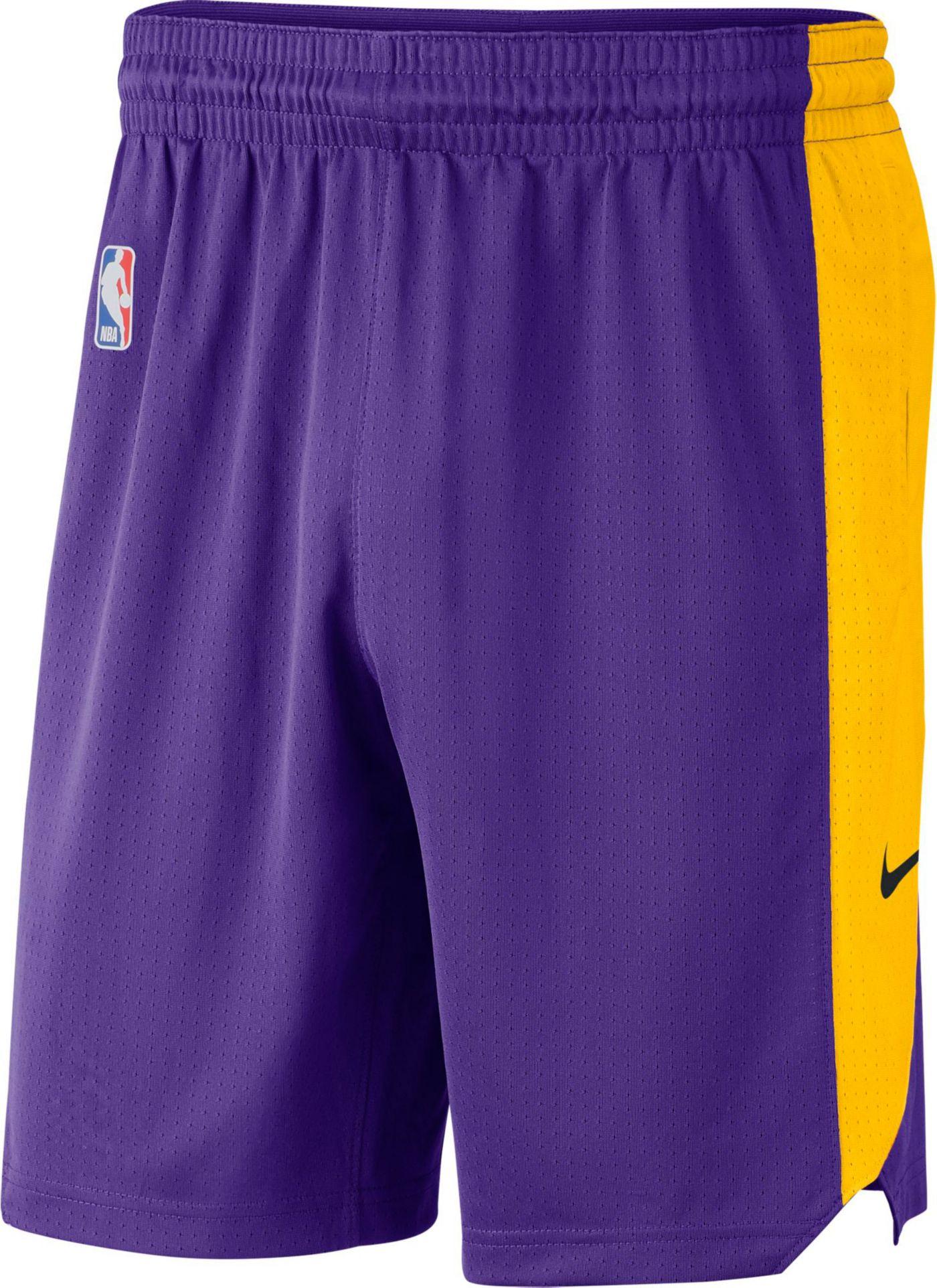 Nike Men's Los Angeles Lakers Dri-FIT Practice Shorts