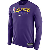 Nike Men's Los Angeles Lakers Dri-FIT Practice Long Sleeve Shirt