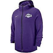 Nike Men's Los Angeles Lakers On-Court Dri-FIT Showtime Full-Zip Hoodie