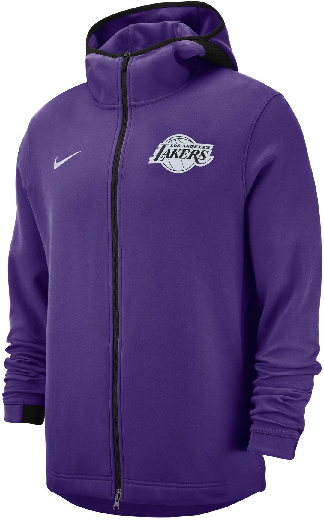 first rate 9ab11 b3f27 Nike Men s Los Angeles Lakers On-Court Dri-FIT Showtime Full-Zip Hoodie