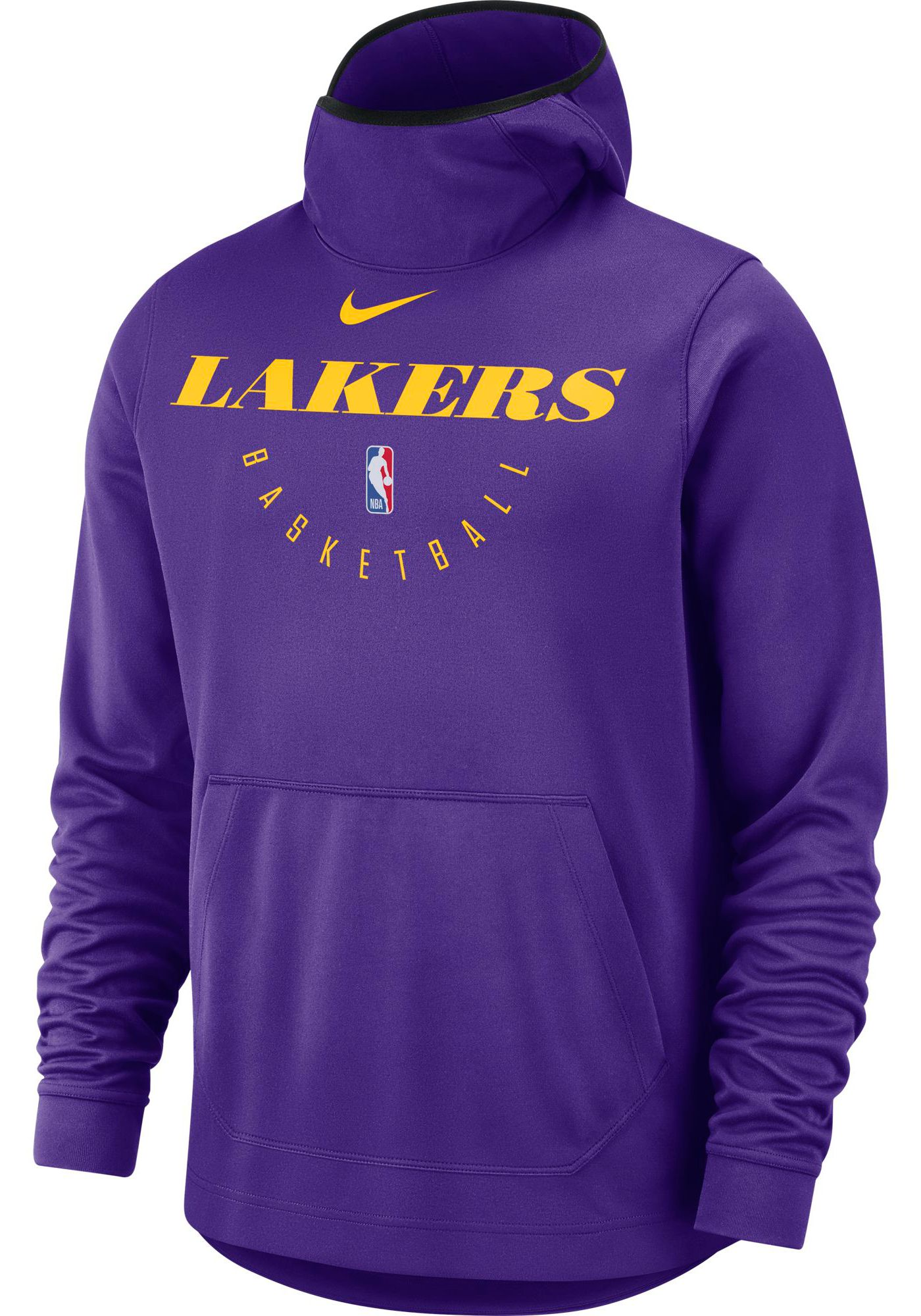 Nike Men's Los Angeles Lakers On-Court Pullover Hoodie