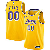 Nike Men's Full Roster Los Angeles Lakers Gold Dri-FIT Swingman Jersey
