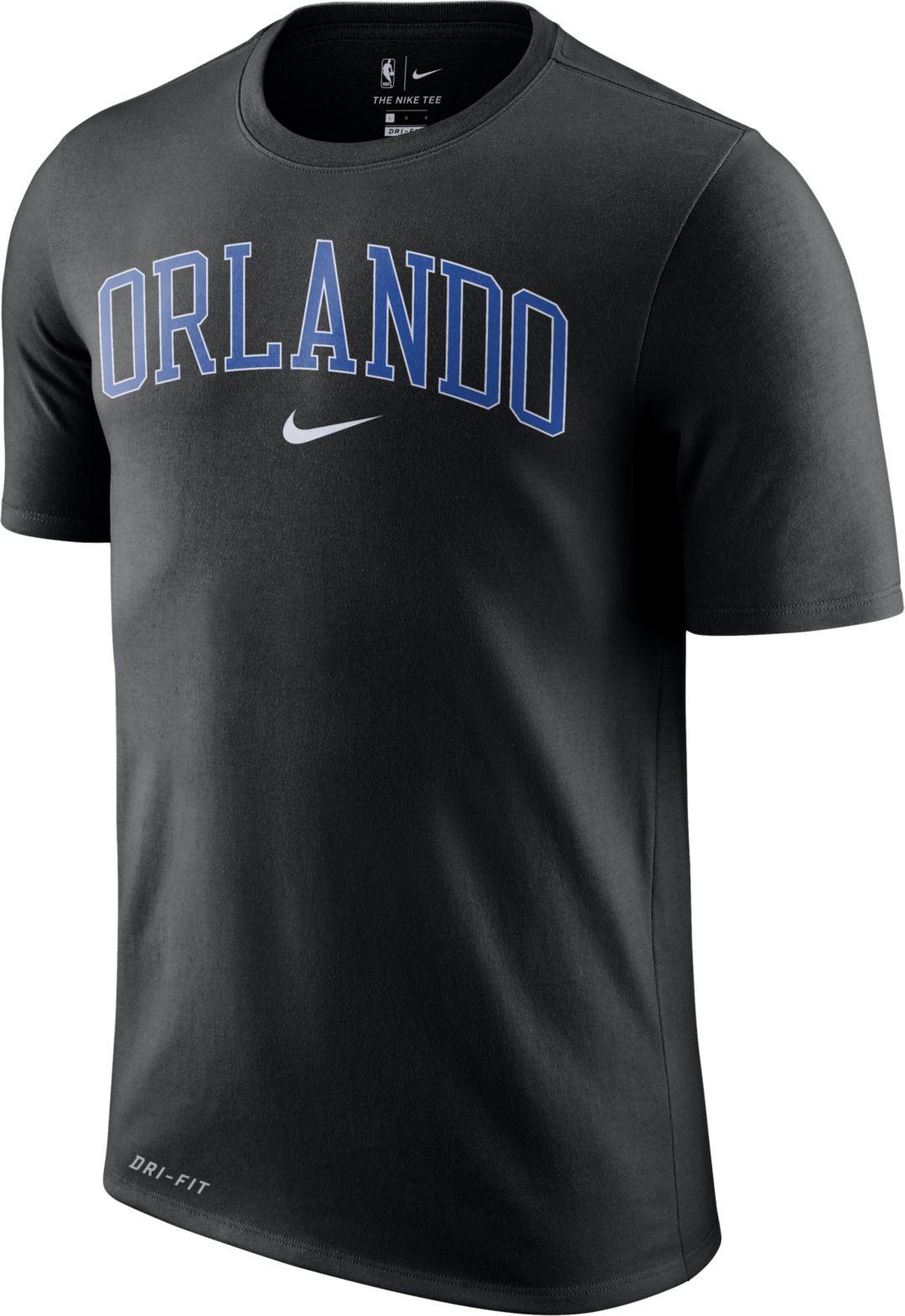 san francisco 24f82 2bc94 Nike Men's Orlando Magic Dri-FIT City T-Shirt