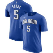 Nike Men's Orlando Magic Mohamed Bamba #5 Dri-FIT Royal T-Shirt