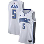 Nike Men's Orlando Magic Mohamed Bamba #5 White Dri-FIT Swingman Jersey