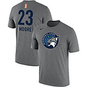 Nike Men's Minnesota Lynx Maya Moore #23 Dri-FIT Grey T-Shirt