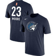 Nike Men's Minnesota Lynx Maya Moore #23 Dri-FIT Navy T-Shirt