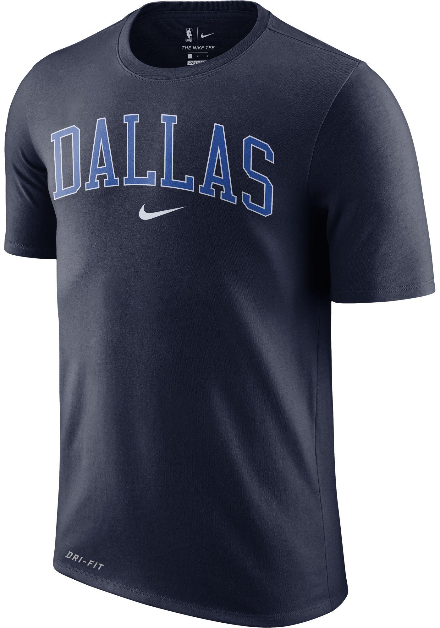 Nike Men's Dallas Mavericks Dri-FIT City T-Shirt