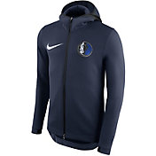 Nike Men's Dallas Mavericks On-Court Therma Flex Showtime Full-Zip Hoodie