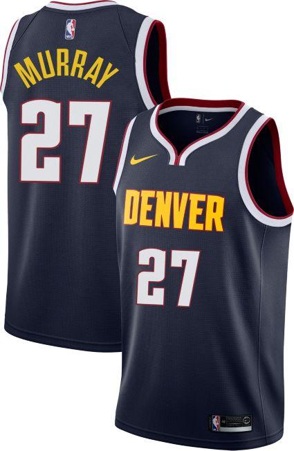 Nike Men s Denver Nuggets Jamal Murray  27 Navy Dri-FIT Swingman ... 5454fbe21