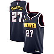 Nike Men's Denver Nuggets Jamal Murray #27 Navy Dri-FIT Swingman Jersey