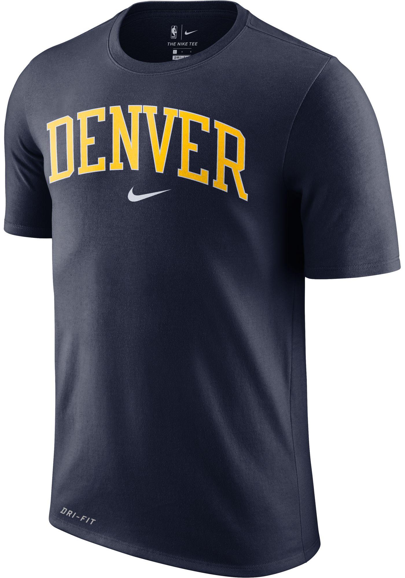 Nike Men's Denver Nuggets Dri-FIT City T-Shirt