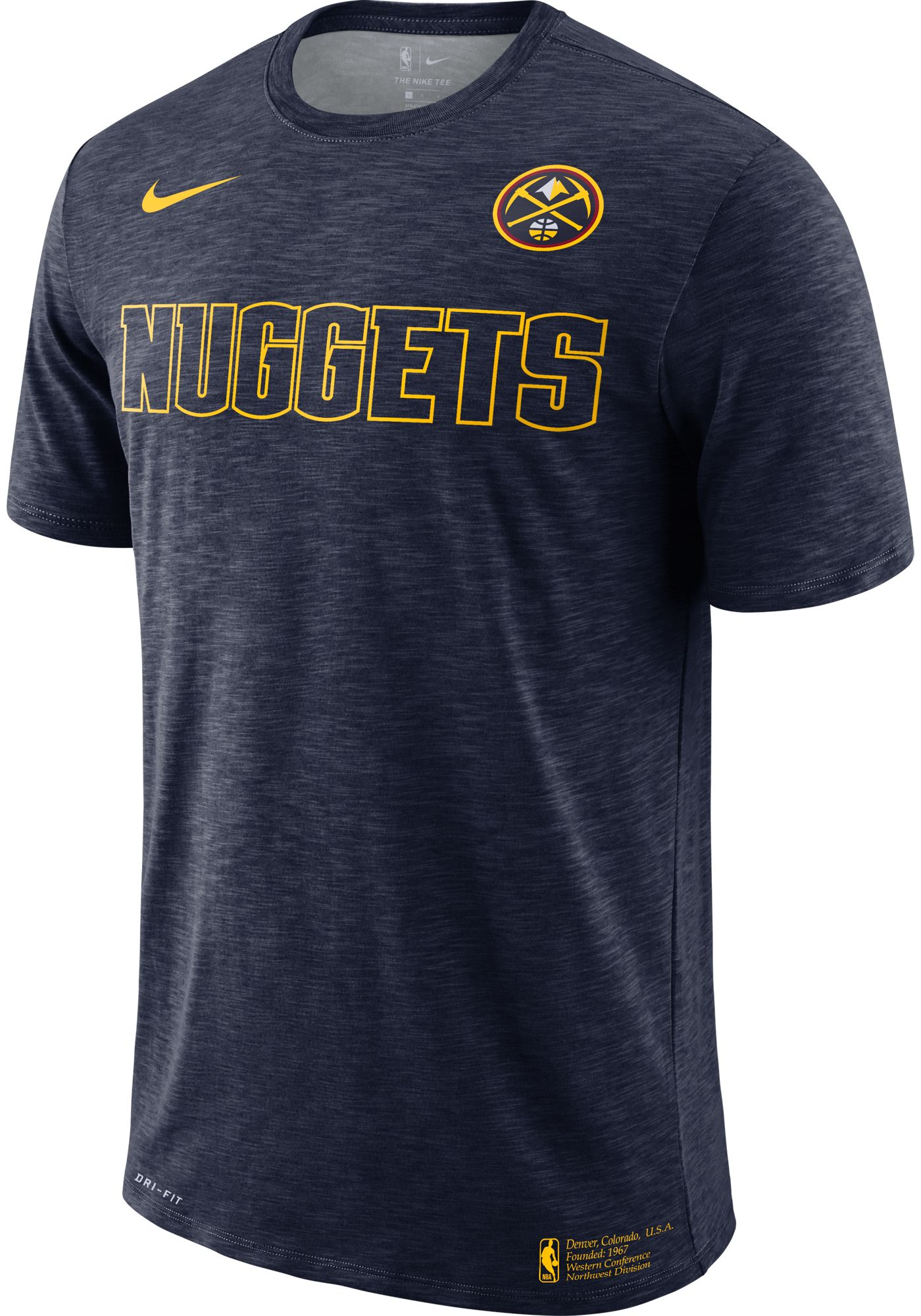 Nike Men's Denver Nuggets Dri-FIT Facility T-Shirt