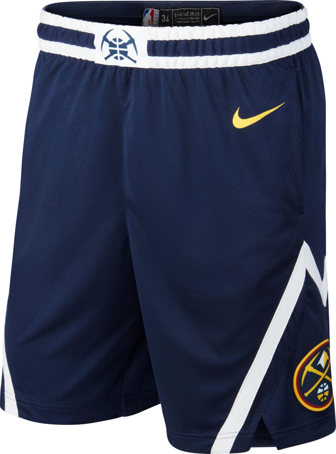Nike Men's Denver Nuggets Dri-FIT Swingman Shorts