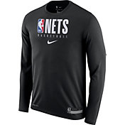 Nike Men's Brooklyn Nets Dri-FIT Practice Long Sleeve Shirt