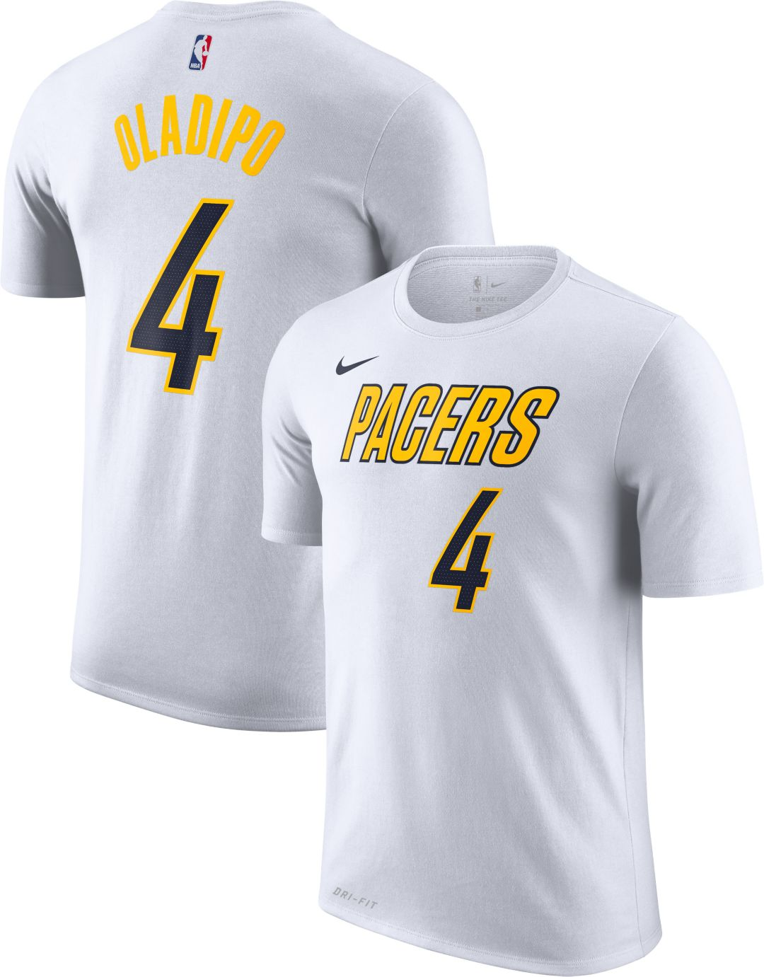 the best attitude 6ea21 04f43 Nike Men's Indiana Pacers Victor Oladipo Dri-FIT Earned Edition T-Shirt