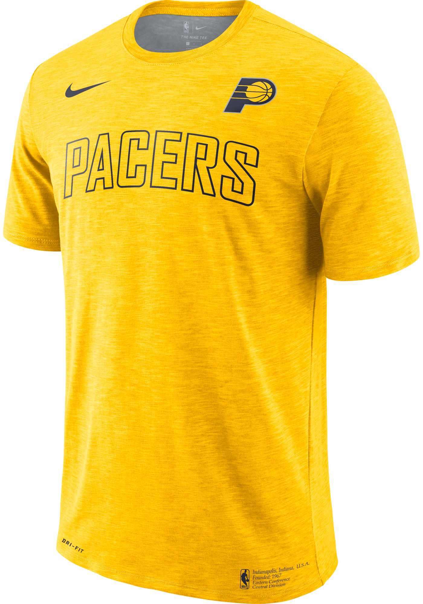 Nike Men's Indiana Pacers Dri-FIT Facility T-Shirt