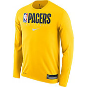 Nike Men's Indiana Pacers Dri-FIT Practice Long Sleeve Shirt