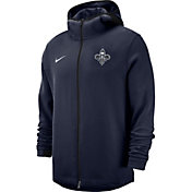 Nike Men's New Orleans Pelicans On-Court Dri-FIT Showtime Full-Zip Hoodie