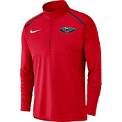 Nike Men's New Orleans Pelicans Dri-FIT Element Half-Zip Pullover