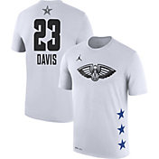 Jordan Men's 2019 NBA All-Star Game Anthony Davis Dri-FIT White T-Shirt