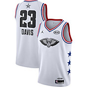 Jordan Men's 2019 NBA All-Star Game Anthony Davis White Dri-FIT Swingman Jersey