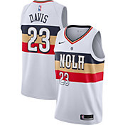 Nike Men's New Orleans Pelicans Anthony Davis Dri-FIT Earned Edition Swingman Jersey